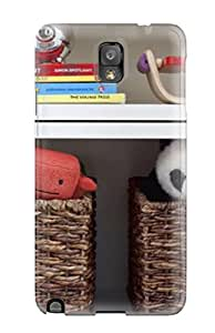 Tpu Case Cover Compatible For Galaxy Note 3/ Hot Case/ Children8217s Room Shelves With Wicker Basket Toys 038 Books