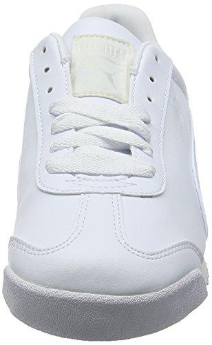 Puma Roma Basic, Zapatillas Unisex Niños Blanco (White-light Gray)