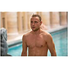 Sense8 Max Riemelt as Wolfgang Bogdanow Shirtless Looking Handsome and Muscular 8 x 10 Inch Photo