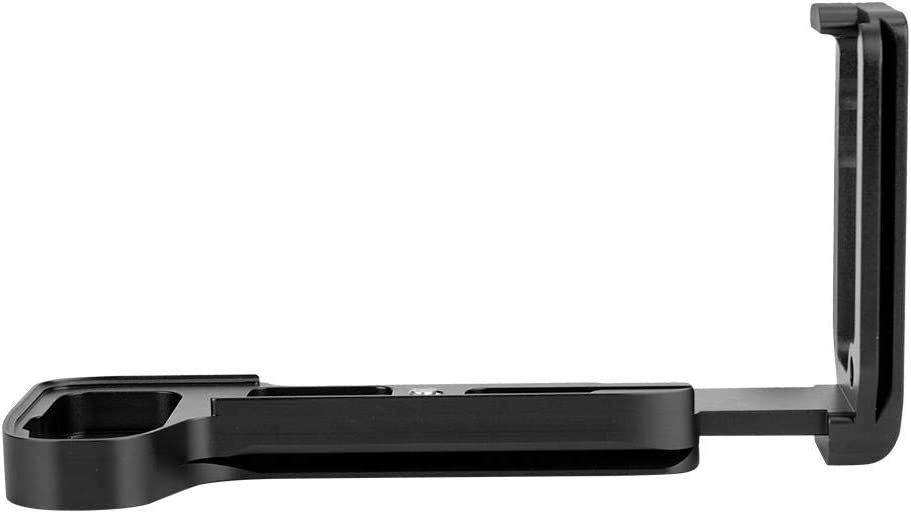 Black Xinwoer Professional Durable Quick Release L-Shaped Camera Bracket Vertical Grip
