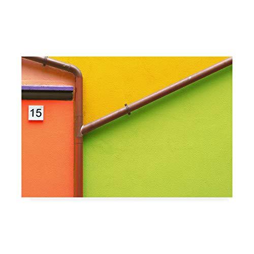 Muro Arlecchino Paolo Trademark Fine Luxardo12x19 Art By hxtsQdrC