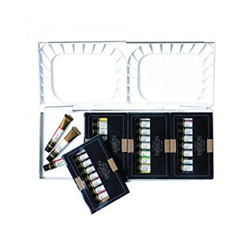Mission Gold Water Farbe with Silber nano Palette Set, 36 Farbes