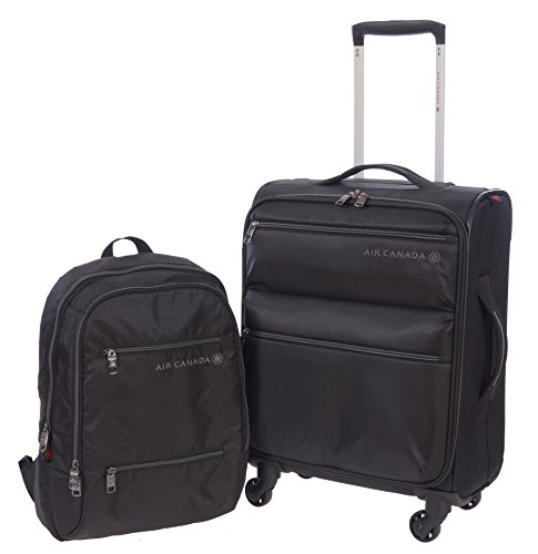 air-canada-business-roller-and-laptop-backpack-2-piece-luggage-set-black