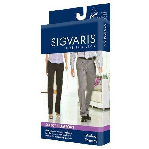 (860 Select Comfort Series 20-30mmHg Women's Closed Toe Knee High Sock Size: X3, Color: Black Mist 14)