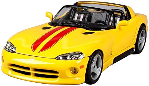 Dodge Viper Rt 10 Sports Car Model Static Simulation Alloy Die Casting Model Car Ratio 1 18 Door And Hood Can Be Opened Finished Models Buy Online At Best Price In Uae Amazon Ae