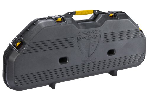 Plano 108110 Bow Guard AW Bow Case Black Compact Double Bow Case