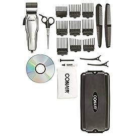 Conair Chrome Custom Haircut Kit 21-Piece - 41URRsTFDiL - Conair Chrome Custom Haircut Kit 21-Piece