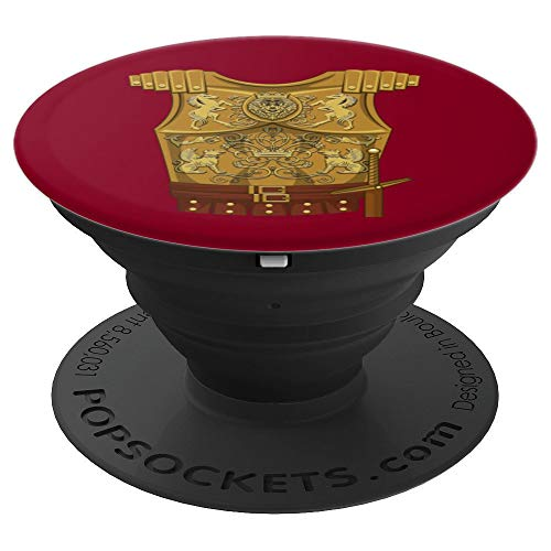 Cool Gladiator Halloween Combat Costume Art Fighter Gift - PopSockets Grip and Stand for Phones and Tablets]()