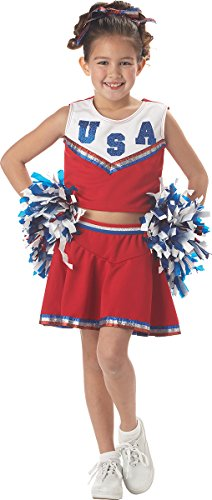 California Costumes Patriotic Cheerleader Costume, X-Small -