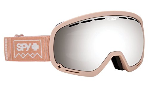 SPY Optic Marshall Deep Winter Rose Quartz Snow Goggles | Aviation Scoop Design Ski, Snowboard or Snowmobile Goggle | Two Lenses with Patented Happy Lens - Lenses Spy Goggle