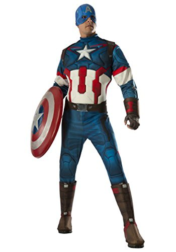 [Rubie's Men's Avengers 2 Age Of Ultron Adult Captain America, Multi, X-Large] (Captain America Costumes For Adults)