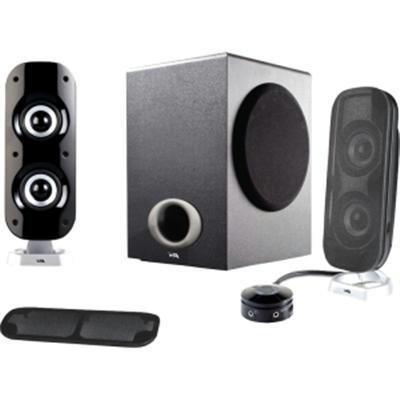 3 pc Powered Speakers  -