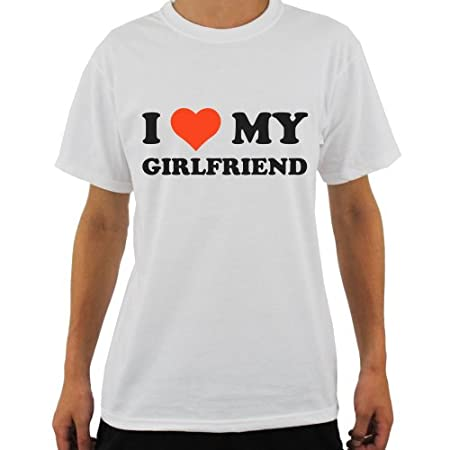 I Love My… T-Shirt Valentines Day Partner Gift Present Cute TOP 100% Cotton TEE 41URT4y8uCL