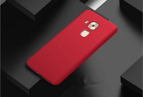 SMTR Huawei Nova Plus Funda, Calidad Premium Cubierta Delgado Caso de PC Hard Gel Funda Protective Case Cover para Huawei Nova Plus -Oro rosa rojo