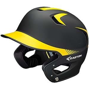 Easton Z5 Grip 2Tone Batting Helmet Bkgd Jr Black/Gold