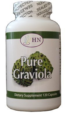 Fresh Health Nutritions Graviola 120 Capsules Bottle 1300 mg 4 Ounce