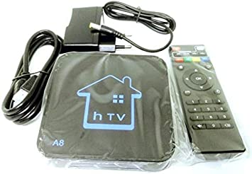 Smart TV Box Android 2 GB RAM 16 GB ROM WiFi IPTV 4K HD Cable HDMI mando a distancia RCA hTV A8: Amazon.es: Electrónica