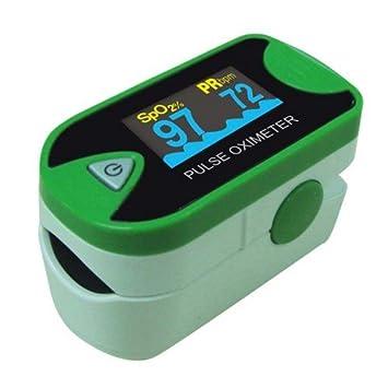 Omron md300 C26 de dedos de pulso oxímetro: Amazon.es: Salud y cuidado personal