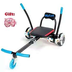 Ajustable Go Kart Coche hoverkart Soporte para 6.5 dos rueda ...