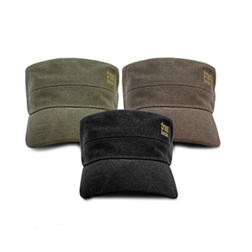 troop-london-trp-0245-unisex-military-cap-canvas-fabric-vintage-style-free-size-khaki