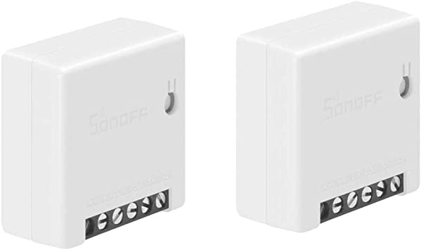 Compatible with IFTTT 4-pack No Hub Required Universal DIY Module for Smart Home Automation Solution Works with Alexa /& Google Home Assistant SONOFF MINI 10A Smart WiFi Wireless Light Switch