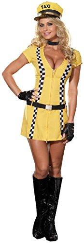 Tina Taxi Driver Costume - X-Large -