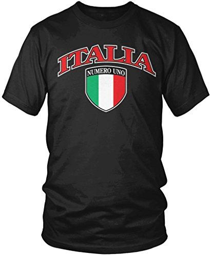 italia-crest-italian-pride-italy-flag-shield-mens-t-shirt-amdesco-black-large
