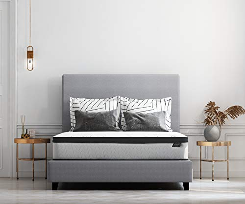 Ashley Furniture Signature Design - 12 Inch Chime Express Hybrid Innerspring - Firm Mattress - Bed in a Box - California King - - King Cal Furniture