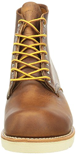 Red Wing Shoes - Zapatos de cordones de cuero para hombre Marrón
