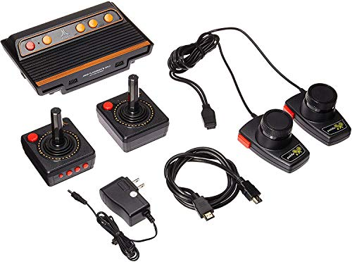 (Atari Flashback 8 Gold Console HDMI 120 Games 2 Wireless Controllers)