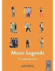 Music Legends: 40 inspiring icons