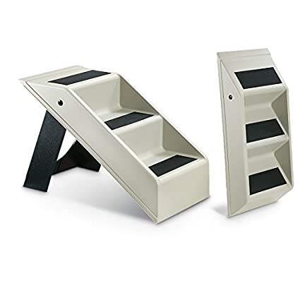 Etna Plastic Folding Pet Steps