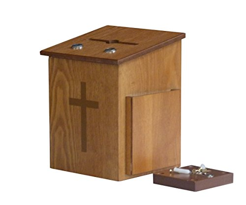 Display Double Box - Fixture Displays Double Lock Comment Collection Suggestion Box Donation Charity Box Prayer Box Tithing 14920!