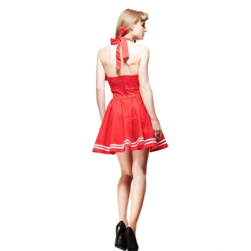 MINI Bunny Hell Red 50'S MOTLEY DRESS Minikleid red pzOwqO6Cx