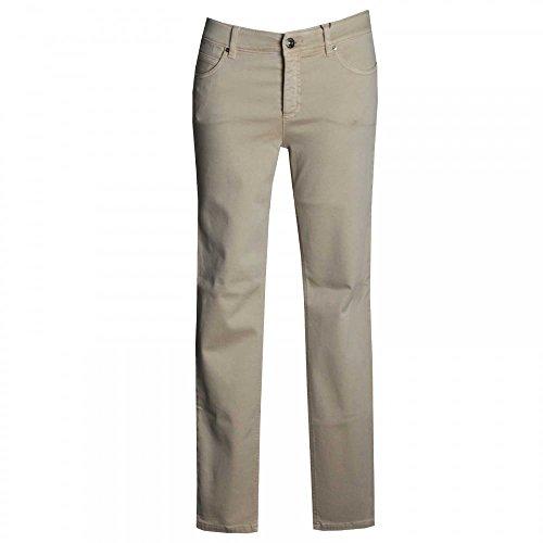 Oui Women's Straight Leg Jeans Beige