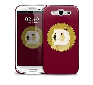 dodge dog badge Samsung Galaxy S3 GS3 protective phone case