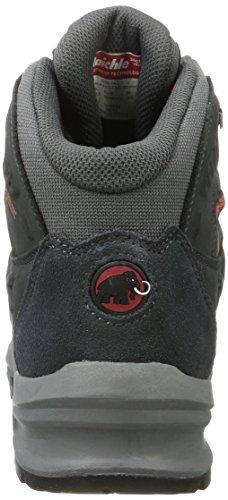 Mammut Nova Mid Ii Gtx, Zapatos de High Rise Senderismo para Mujer Gris (Graphite-dark Barberry)