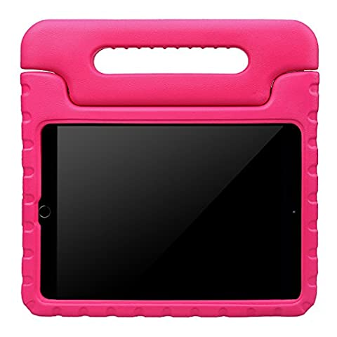 BMOUO Apple iPad Mini Kids Case - Light Weight Shock Proof Handle Stand Kids for iPad Mini, iPad Mini 3rd Generation, iPad Mini 2 with Retina Display - Rose (Ipad 1 Kids)
