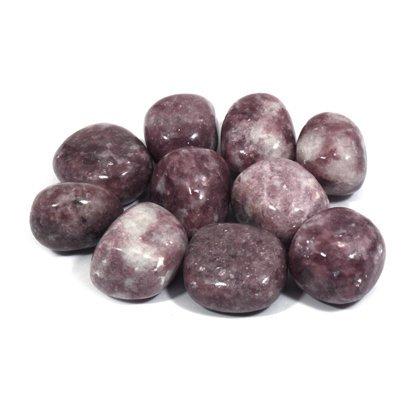 Lepidolite Tumble Stone (20-25mm) 5 Pack