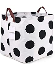 Storage Basket Foldable Storage Bin Cubes Organizer Toy Storage Basket with Handles Suitable for Office, Bedroom, Closet, Laundry(Spot)