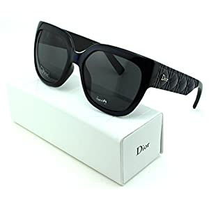 Dior Mydior/3N Square Women Sunglasses (dark Blue Frame, Grey Gradient Lens (0EDV))