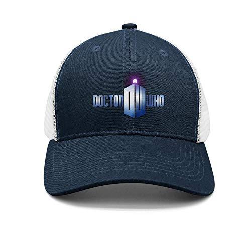 Men Women Series-Doctor-Who- Plain Baseball Cap Adjustable Unisex Visor Hat