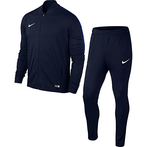 Sport Knit Jacket (NIKE Men's Academy 16 Knit Tracksuit (L, Dark Blue))