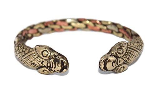(Copper Bracelet, Tribal bracelet, Healing Cuff Bracelet, Tibetan Bracelet, Nepal Bracelet BB190)