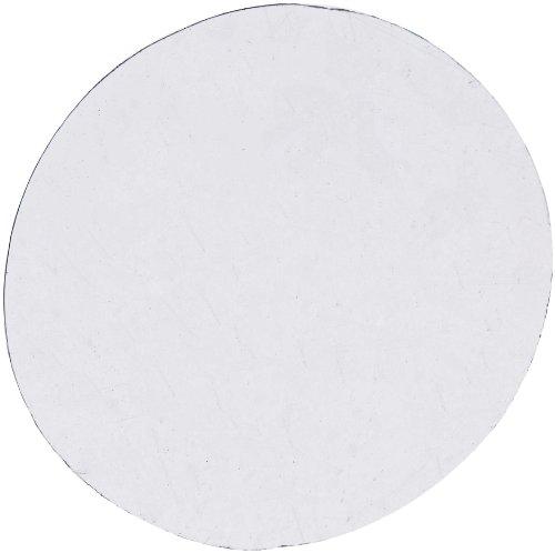 AmScope CS-R18-100 100pc Pre-Cleaned 18mm Diameter Round Microscope Glass Cover Slides Coverslips