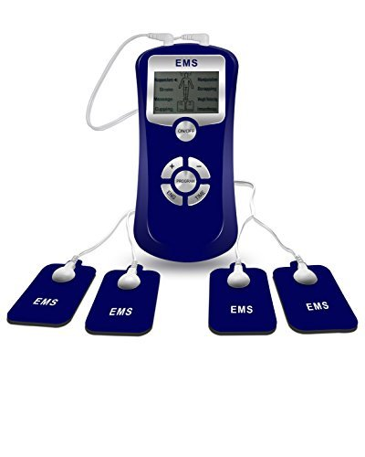 EMS Electric Muscle Stimulation Unit Stimulates Muscle Growth - Muscle Stimulation Electrodes