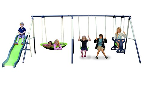 Sportspower Rosemead Metal Swing Set product image