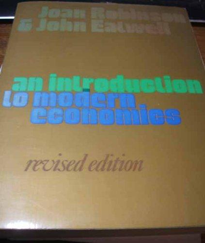 Introduction to Modern Economics