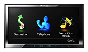 """Pioneer AVIC-Z130BT 7"""" In-Dash Navigation AV Receiver with iPod/iPhone Control, Bluetooth, Pandora (Discontinued by Manufacturer)"""