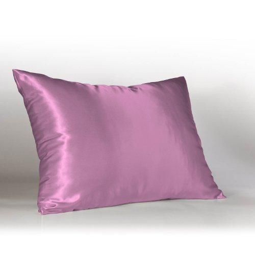 Sweet Dreams Luxury Satin Pillowcase With Zipper, Standard